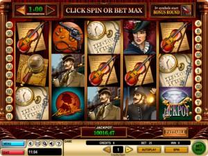 CasinoClub :: Получи прямо сейчас 50 бесплатных вращений на новом слоте Sherlock Holmes (Шерлок Холмс)!