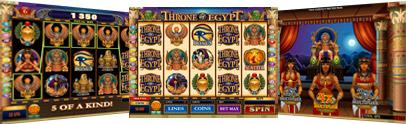 Jackpot City Казино :: Новая слот-игра Throne of Egypt от Microgaming - НАЧНИ ИГРАТЬ!