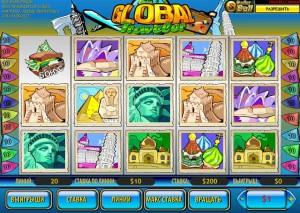 Casino Tropez :: Видеослот Global Traveler