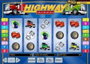Casino Tropez :: Видеослот Highway Kings
