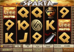 CASINO TROPEZ :: Видеослот Sparta - Начни играть прямо сейчас!