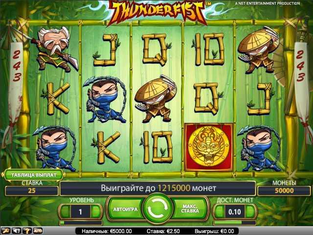 """Unibet Казино :: Начни играть в новый игровой автомат Thunderfist (""""Кулак грома"""")!"""