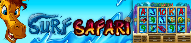Jackpot City Casino :: Игровой автомат Surf Safari