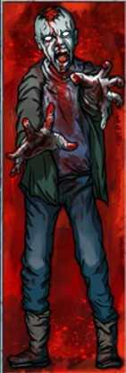 Игровой автомат Zombies :: Рядный заменитель Stacked Wild