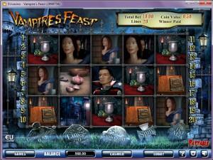 3D видеослот Vampires Feast :: Играй бесплатно!