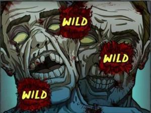 Видеослот Zombies :: Случайный заменитель Random Wild