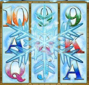 Sloto' Cash Casino :: В игровом автомате Polar Explorer ячейки 2, 3 и 4 барабанов создали изображение СНЕЖИНКИ.