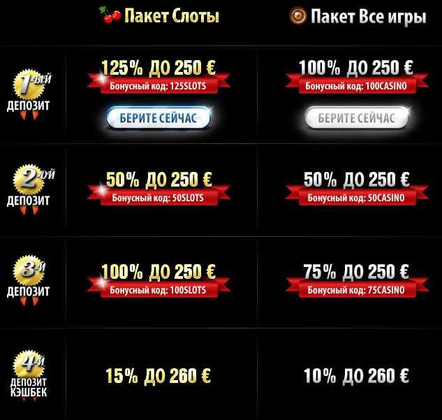10Bet Casino :: Пакеты бонусов для новых игроков
