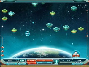 SPIN PALACE CASINO :: Max Damage and the Alien Attack - играйте в арканоид на деньги!