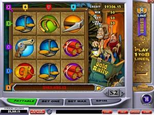 Titan Casino :: Прогрессивная слот-игра Gold Rally - Стань следующим победителем джекпота!
