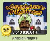 PAF Казино :: Джекпот в игровом автомате Arabian Nights
