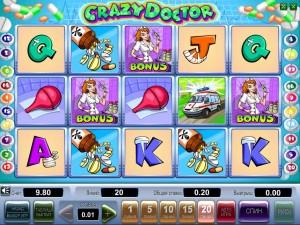 Казино Вулкан :: Получи сумасшедшие деньги на игровом автомате Crazy Doctor !