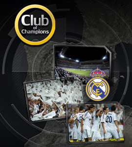 Прими участие в акции Club of Champions - Backstage Bernabéu (Реал Мадрид) от bWin !