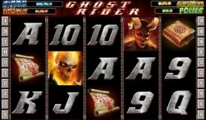 """EuroGrand Казино :: Игровой автомат Ghost Rider (""""Призрачный гонщик"""")"""
