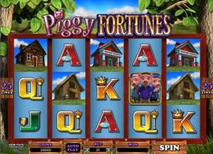 Crazy Vegas Казино :: Игровой автомат Piggy Fortunes