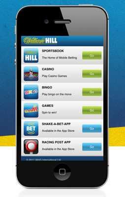 Мобильное William Hill Казино