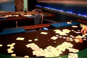Подпольное казино в Санкт-Петербурге :: Кадр из оперативной съемки МВД