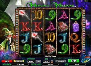 Игровой автомат Merlin's Millions - Бесплатная игра