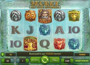 "CASINO ROOM :: Игровой автомат Secret of the Stones™ (""Тайна камней"") на русском языке!"
