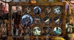 """SLOTO'CASH КАЗИНО :: 3D слот-автомат Orc vs Elf (""""Орк против Эльфа"""")"""