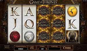 CASINO-X :: Игровой автомат Game of Thrones («Игра престолов»)