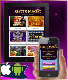 Мобильное казино SlotsMagic на русском языке