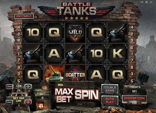 Слот Battle Tanks – это настоящая битва за жизнь, сражаясь в которой у вас нет права на проигрыш!